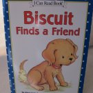 BISCUIT FINDS A FRIEND by Alyssa Satin Capucilli Paperback Scholastic My First I Can Read Book