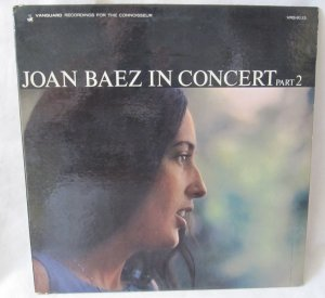 JOAN BAEZ IN CONCERT PART 2 LP Record Album Vinyl Vanguard VRS-9113 Mono 1963