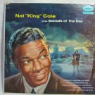 """NAT """"KING"""" COLE Sings Ballads of the Day Capitol T680 Original 1956"""