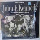 JOHN F. KENNEDY JFK Presidential Years 1960-1963 Documentary TFM 3127 Mono LP Vinyl Record Album