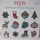 ELVIS PRESLEY Elvis Sings The Wonderful World of Christmas LP Record Album RCA ANL1-1936 Tan 1976