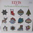 ELVIS PRESLEY Elvis Sings The Wonderful World of Christmas LP Record Album RCA ANL1-1936 Tan 1976