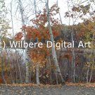 Digital Art JPG Photo Cutler Park Charles River Scene Early Fall No. 1