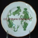 Digital Art JPG Photo Wedgwood Green Chinese Tigers Plate