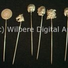 Digital Art JPG Photo Silver Shawl Pins