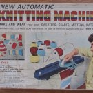 Vintage Kenner Automatic Knitting Machine No. 1640 c 1966 in Original Box