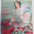 American Girl Magazine December 1965 Vintage 1960s Back Issue Merry Merry Merry
