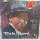 FRANK SINATRA This is Sinatra Capitol T768 Original 1958 LP Vinyl Stereo Record Album Open Shrink