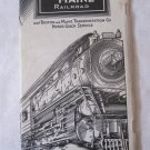 Vintage 1932 Railroad Train Schedule Time Table Boston and Maine  Railroad