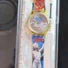 Genuine Vintage 1994 Swatch Olympic Stop Watch Los Angeles 1932 Unisex Never Worn Orig Box