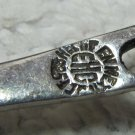 Lovely Vintage EHC 925 Mexican Silver Demitasse Spoon Openwork Handle 4.5 In Heche en Mexico