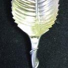 Rare Vintage Durgin Sterling Silver Small Serrated Deep Bowl Spoon Scoop Looped Handle 4-1/8 In