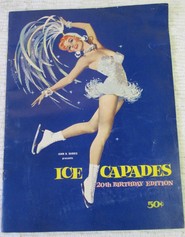 Vintage Ice Capades 1959-1960 Season 20th Ed. Program Babes in Toyland