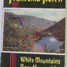 Vintage c 1940 Franconia Notch White Mountains NH Souvenir Visitors Brochure Pamphlet Photos
