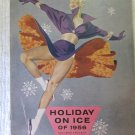Vintage Holiday on Ice of 1956 Program Totin' Ice Around the World