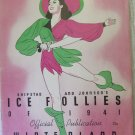 Vintage Ice Follies of 1941 Program Shipstads & Johnson Moonlight Vision