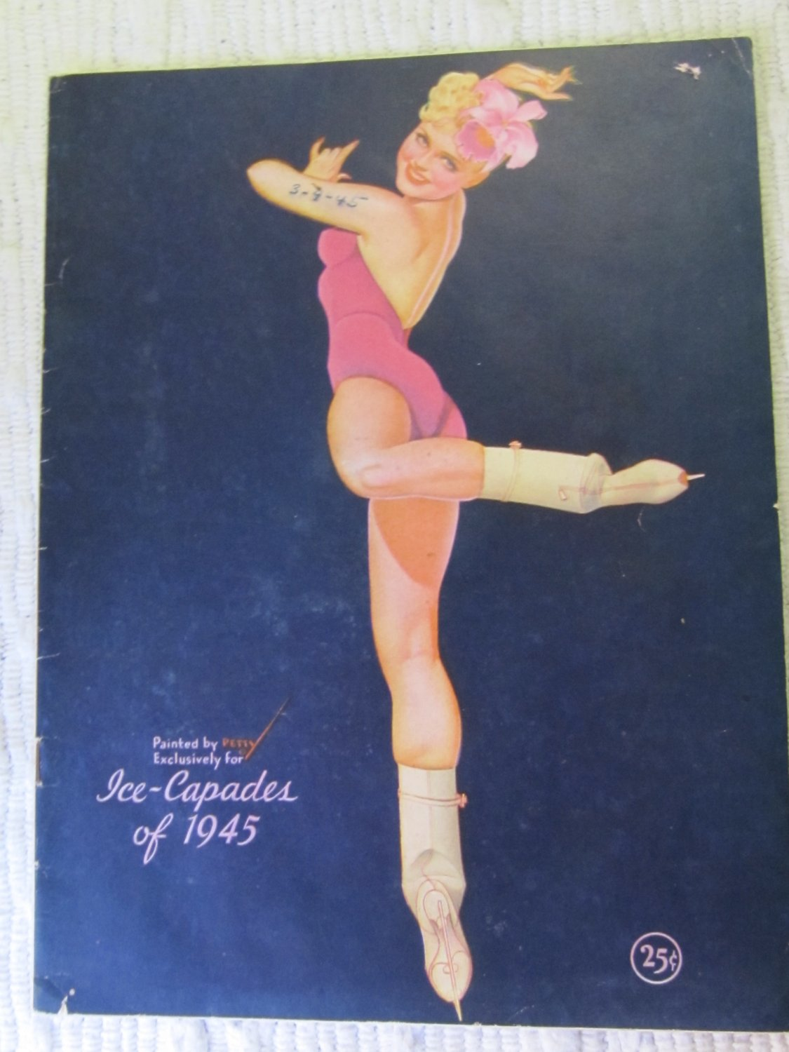 Vintage Ice Capades of 1945 Program Parade of the Wooden Soldiers