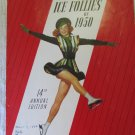 Vintage Ice Follies of 1950 Program Shipstads & Johnson In a Viennese Garden