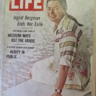 Life Magazine October 13, 1967 Issue Ingrid  Bergman Cover