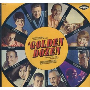 A GOLDEN DOZEN Hits Sold Over A Million Columbia CSP167 Original 1960s LP Vinyl Stereo Record Album