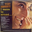 TONY BENNETT I Wanna Be Around Columbia CL2000 Original 1963 LP Vinyl Monaural Mono Record Album