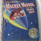 Walt Disney's Mickey Mouse and His Space Ship Little Golden Book No. D29 (c) 1952