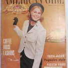 American Girl Magazine February 1966 Vintage 1960s Back Issue Coffee House Fashions