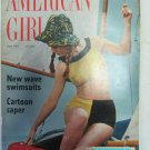 American Girl Magazine June 1967 Vintage 1960s Back Issue New Wave Swimsuits