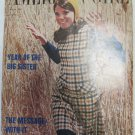 American Girl Magazine August 1967 Vintage 1960s Back Issue Year of the Big Sister
