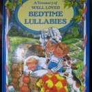A Treasury of Well Loved Bedtime Lullabies Illust Pam Storey Hardback Children's Book (c) 1999