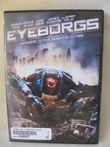 Eyeborgs (c) 2010 DVD Science Fiction Action Movie in Case