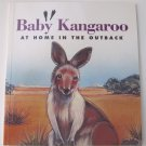 Baby Kangaroo: At Home in The Outback by Jennifer Boudart Children's Paperback Book