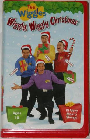 The Wiggles Wiggly, Wiggly Christmas VHS Video in Case