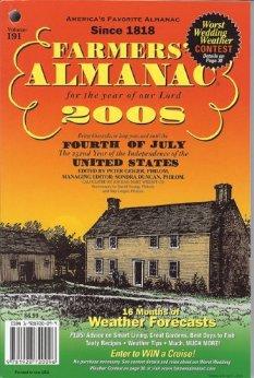 2008 Farmer's Almanac Vol 191 Softcover