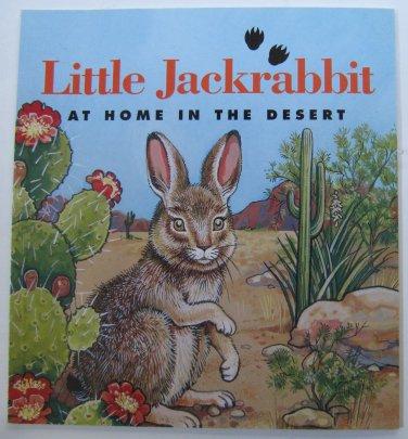 Little Jackrabbit At Home in the Desert by Jim Strickler Children's Paperback Book
