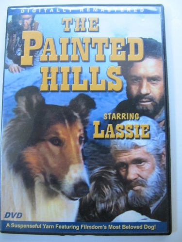 The Painted Hills Starring Lassie DVD with Case c. 2004 Movie