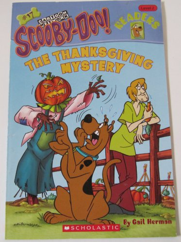 Scooby-Doo Readers The Thanksgiving Mystery Paperback Book Level 2 Scholastic