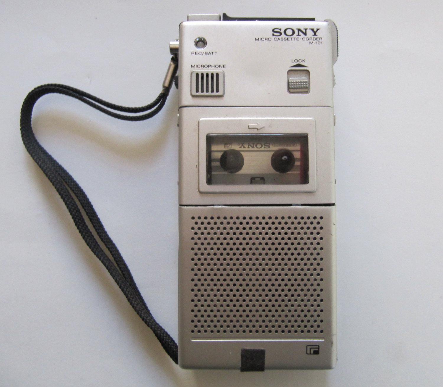FOR PARTS OR REPAIR Vintage Sony Micro Cassette Recorder M-1-1 Portable Microcassette Tape Player