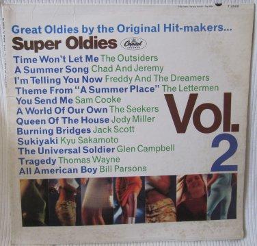 Super Oldies Vol. 2 Capitol T-2565 T2-2565 Monophonic Microgroove Original 1966 Vinyl Record Album