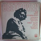 BEETHOVEN 9 Symphonies Krips London Symph Orch Boxed Set 8 Vinyl Records Everest SDBR 3065/8 1960