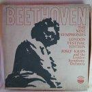 BEETHOVEN 9 Symphonies Krips London Symph Orch Boxed Set 8 Vinyl Records Everest SDBR 3065/8 1960