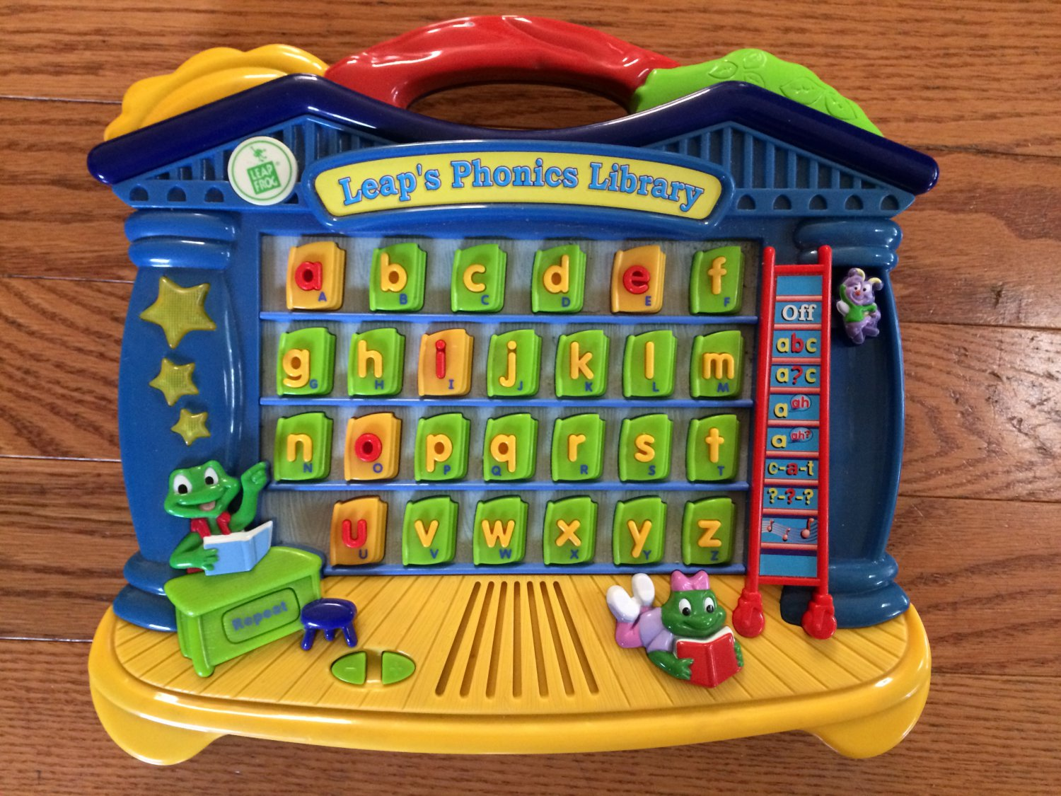 LEAP FROG Leap's Phonics Library ABCs Alphabet Spelling