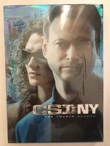 CSI NY The Complete 4th Season DVD Set New in Shrink Wrapped Case