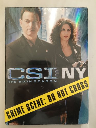 CSI NY The Complete 6th Season DVD Set New in Shrink Wrapped Case