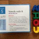 Vintage Lesson 5 Blue Card Pack for Leap Frog Phonics Learning System Desk