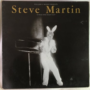 STEVE MARTIN A Wild and Crazy Guy Warner Bros HS 3238 1978 LP Vinyl Record Album Comedy