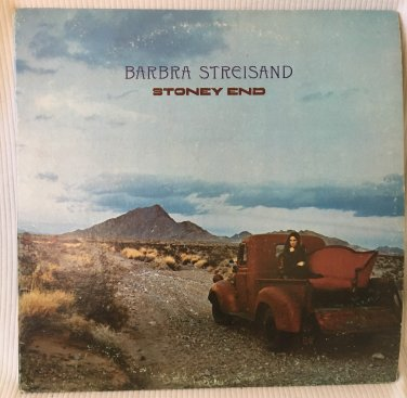 BARBRA STREISAND Stoney End LP Vinyl Record Album Stereo Columbia KC30378 1971