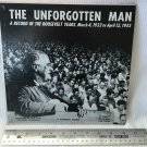 "The Unforgotten Man Record of the Roosevelt Years 1933-1945 10"" 33 RPM LP Vinyl Record Album"