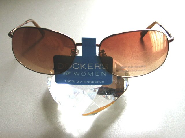 DOCKERS Women Brown Shaded Sunglasses with Soft Metal Rim, D2054-059