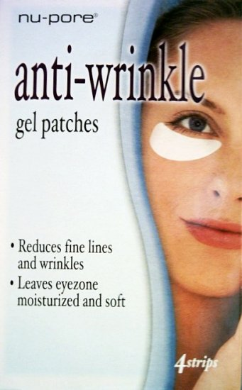 S0199 6 x NU-PORE UNDER EYE ANTI-WRINKLE GEL PATCHES, 4 STRIPS